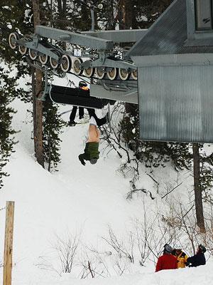 Butt-Ski Lift! 実際