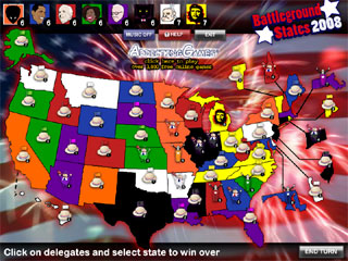 Battleground States 2008