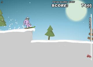 Downhill Snowboarding 2