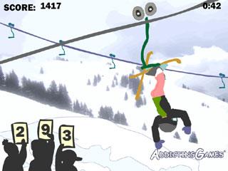 Butt-Ski Lift!